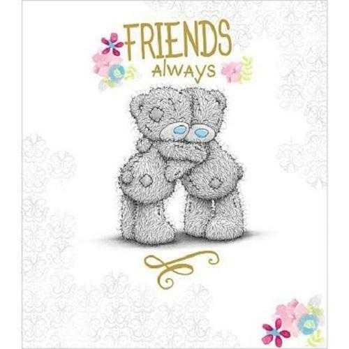 me to you friends always birthday card tatty teddy bear gift ebay