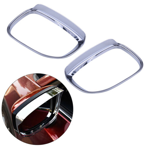 Fit For Mazda Cx-5 2017 2018 Chrome Rear View Side Mirror Cover Trim Cap Overlay