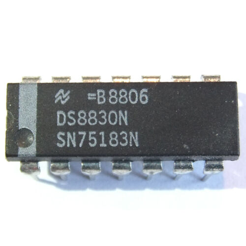 SN75183N IC DIP 14 NSC Dual Differential Line Drivers