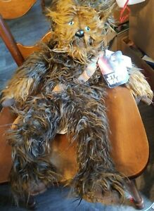 Star-Wars-Chewbacca-Plush-The-Rise-of-Skywalker-Polyester-19-in-Pillow-Buddy