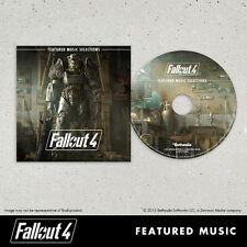 Fallout 4 Featured Music Selections CD IN STOCK Bonus Rare Pip Boy Edition
