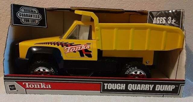 2003 Rare NEW Tonka Tough Quarry Dump Truck 92207 Made with Steel in Box Hasbro