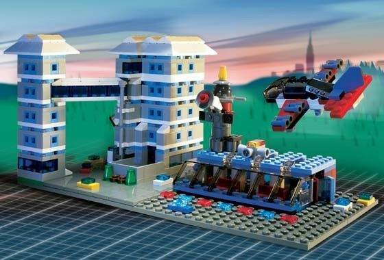 Lego Factory Airport (5524) 100% complet