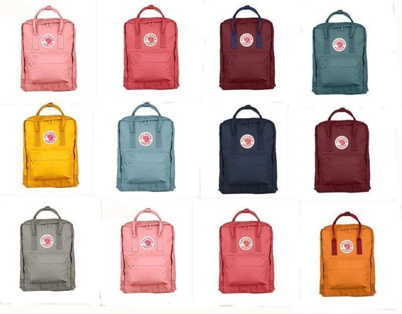 New Fjällräven Kanken Rucksack Schule Sport Freizeit Trend Tasche Backpack DE 5