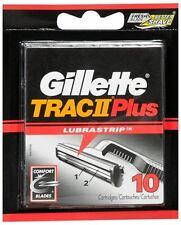 Gillette Trac II Plus Cartridges 10 Each