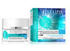 EVELINE COSMETICS HYALURON CLINIC DEEP MOISTURIZING CREAM FOR FIRST WRINKLES 30+