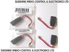 RC JR / Futaba Female Servo Extension Adapter To Male Molex 1.25mm Set Of 4 New