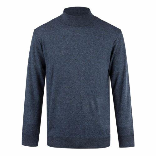Lee Cooper Mens High Neck Jumper Crew Sweater Pullover
