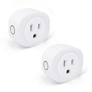2-Pack-Smart-Life-WiFi-Plug-Remote-Control-Timer-Switch-US-Socket-Alexa-Google