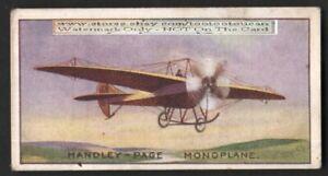 Handley-Page-Monoplane-Avaiton-History-100-Y-O-Trade-Ad-Card