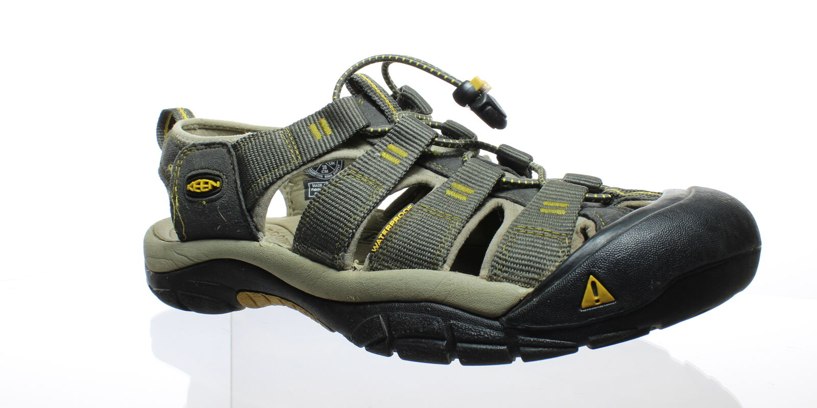 KEEN Uomo 1008399 Raven/Aluminum Sport Sandals Size 10 (55209) (55209) (55209) 6d9aa1