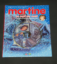 Martine la Nuit de Noel Book & CD Set Marcel Marlier Hardcover  2011 Casterman