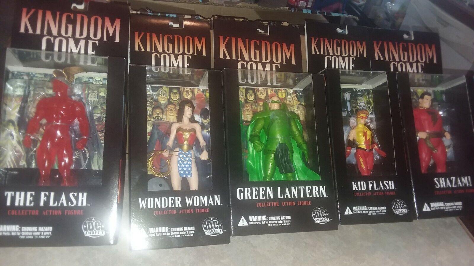 Kingdom Come qué demonios Linterna verde Mujer Maravilla sellado menta en tarjeta Lote de 5 DC DIRECT