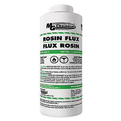Flux Core Welding Wire >> MG Chemicals 835-1L Liquid Rosin Flux Non Corrosive Non ...