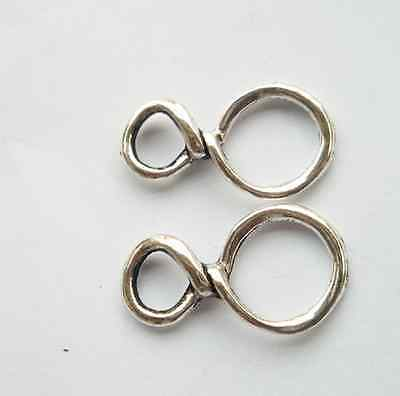 "20 pcs Tibetan silver ""8 "" charms connector 30x17mm"