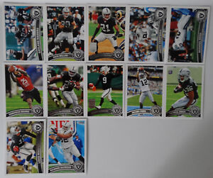 2011-Topps-Oakland-Raiders-Team-Set-of-12-Football-Cards