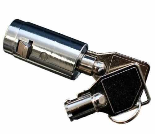 Vendo Cavalier T Handle Plug Lock Fits USI Seaga Dixie Narco Rowe Crane Royal