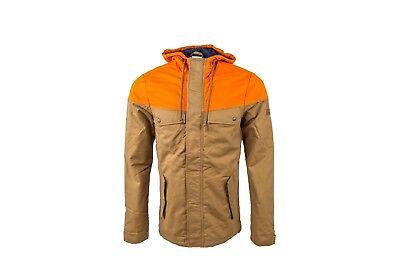 ADIDAS NEO PARKA Jacket Herren Winter Kapuzen Jacke beige
