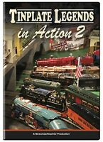 Tinplate Legends In Action 2 Dvd Train Video American Flyer Standard Gauge
