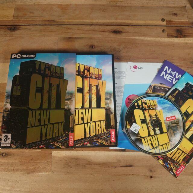 Tycoon City: NEW York (PC: Windows) Original Version enthält Schutzhülle gut