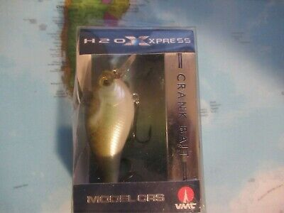 H2O XPRESS CRS Crankbait LOT OF 4 GHOST CRAW LOWEST PRICE ON WEB!