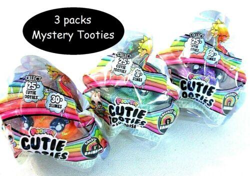 POOPSIE Cutie Tooties Surprise Slime /& Mystery Character LOT OF 3
