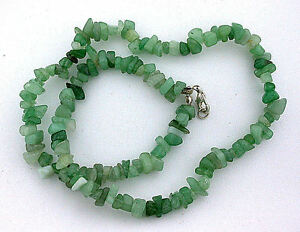 Green Aventurine Gemstone Chip Bracelet