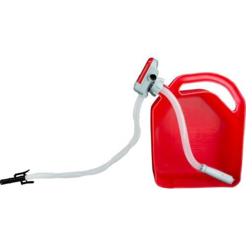 Battery Operated Electric Fuel Transfer Pump Diesel Gasoline Car Suv w// Hose Set