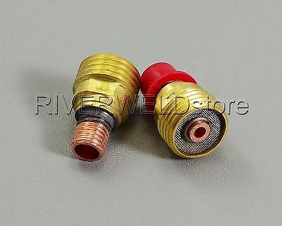 "TIG Gas Lens Collet Body 45V44 3//32/"" 2.4mm Fit For SR DB PTA WP-9 20 Torch Qty-3"