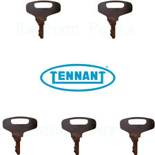 5 Tennant Sweeper Ignition Keys 87866 Litter Hawk Atlv 4300 1550 355 385 550