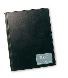Rapesco-Display-Book-Hardback-A4-24-Clear-Pockets-DKA424B2