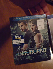 The Divergent Series: Insurgent  Blu-ray 3D Dvd STEELBOOK NEW FACTORY SEALED
