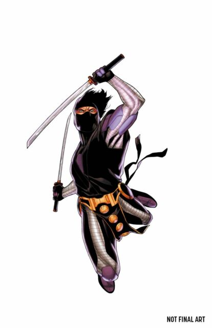 Ninjak #14D Henry CGC Replica Variant VF 2016 Stock Image