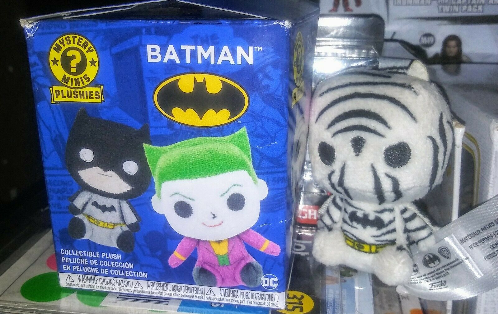 Funko DC Batman Mystery Minis Plushies Plush Figure NEW Toys and Collectibles