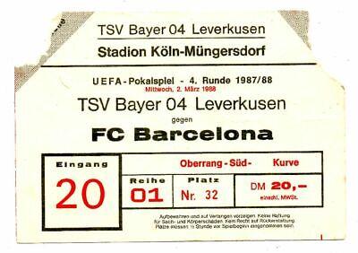 Leverkusen Barca Tickets