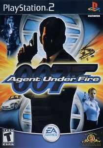 James-Bond-007-in-Agent-Under-Fire-Sony-PlayStation-2-PS2-Complete-Game-CIB