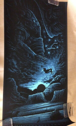 """LV223"" By Dan Mumford Limited Edition of 50 Approximately18"" x 36"" Rare Sold"