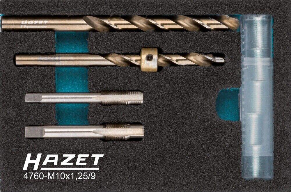 Hazet doble función-de reparación de 9 piezas 4760-m10x1.25/9