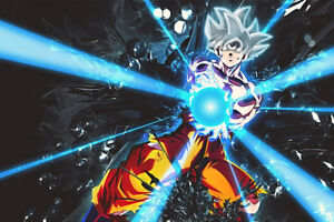 Goku Large Poster Art Print