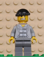 LEGO minifigures City cty206 Police - Jail Prisoner - carcerato set 7287-minifig