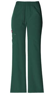 Dickies-Scrubs-Women-039-s-Cargo-Pant-82012-Hunter-Green-HTRZ-Dickies-Xtreme-Stretch