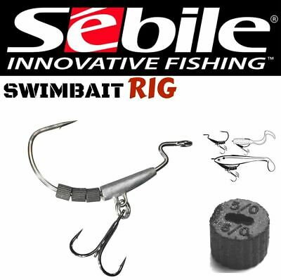 SEBILE SOFT WEIGHT SYSTEM SWIMBAIT RIG