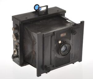 Goerz-C-P-Ango-klapp-camera-9x12cm-with-135-6-8-Dagor-III-incomplete