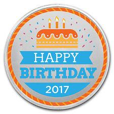 1 oz Silver Colorized Round - APMEX (Birthday Cake) - SKU: 117994