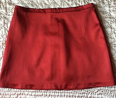 CACHE RED MINI SKIRT SIZE LARGE