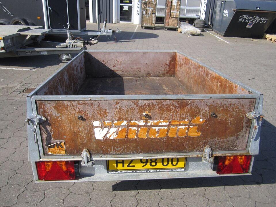 Trailer Variant 752, lastevne (kg): Variant 752