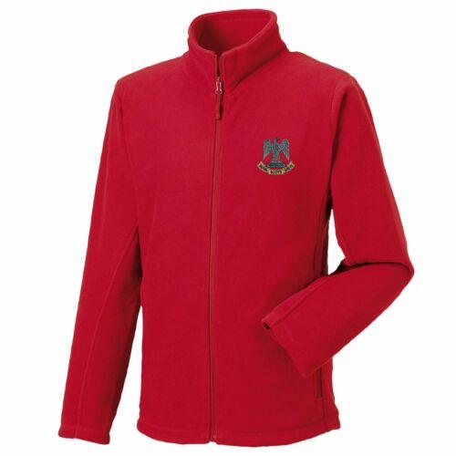 Royal Scots Dragoon Guards Zip Fleece Embroidered Logo