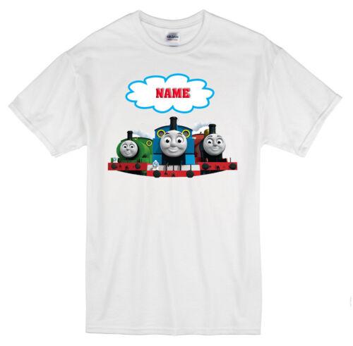 cadeaux, THOMAS THE TANK ENGINE Personnalisé T Shirt Tout Nom Âge 1-13 ans
