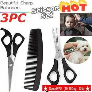 3Pcs-Professional-Salon-Hairdressing-Hair-Thinning-Cutting-Barber-Scissors-Set