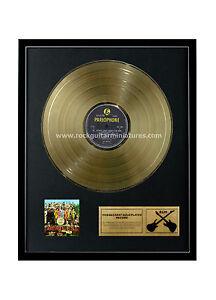 rgm1230-THE-BEATLES-Sgt-Peppers-Lonely-Corazones-Club-dorado-DISCOS-24k-Banado